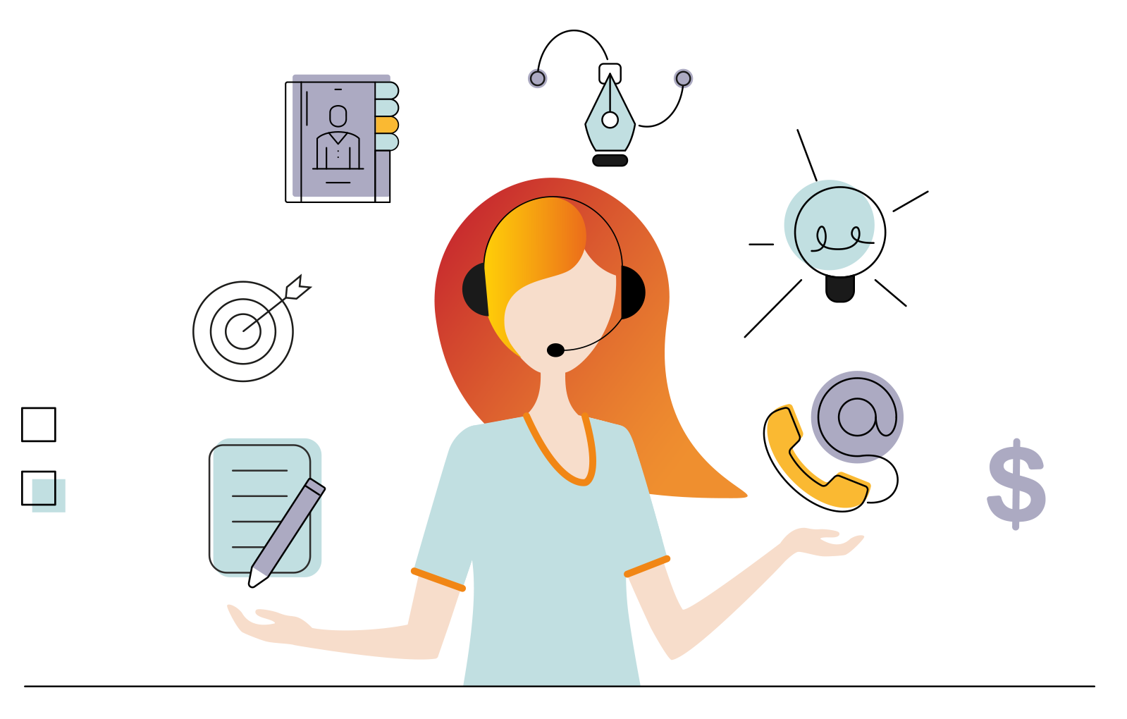 usługi wirtualnej asystentki wirtualna asystentka